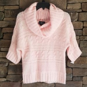 Pink Cable Knit Sweater.  NWT